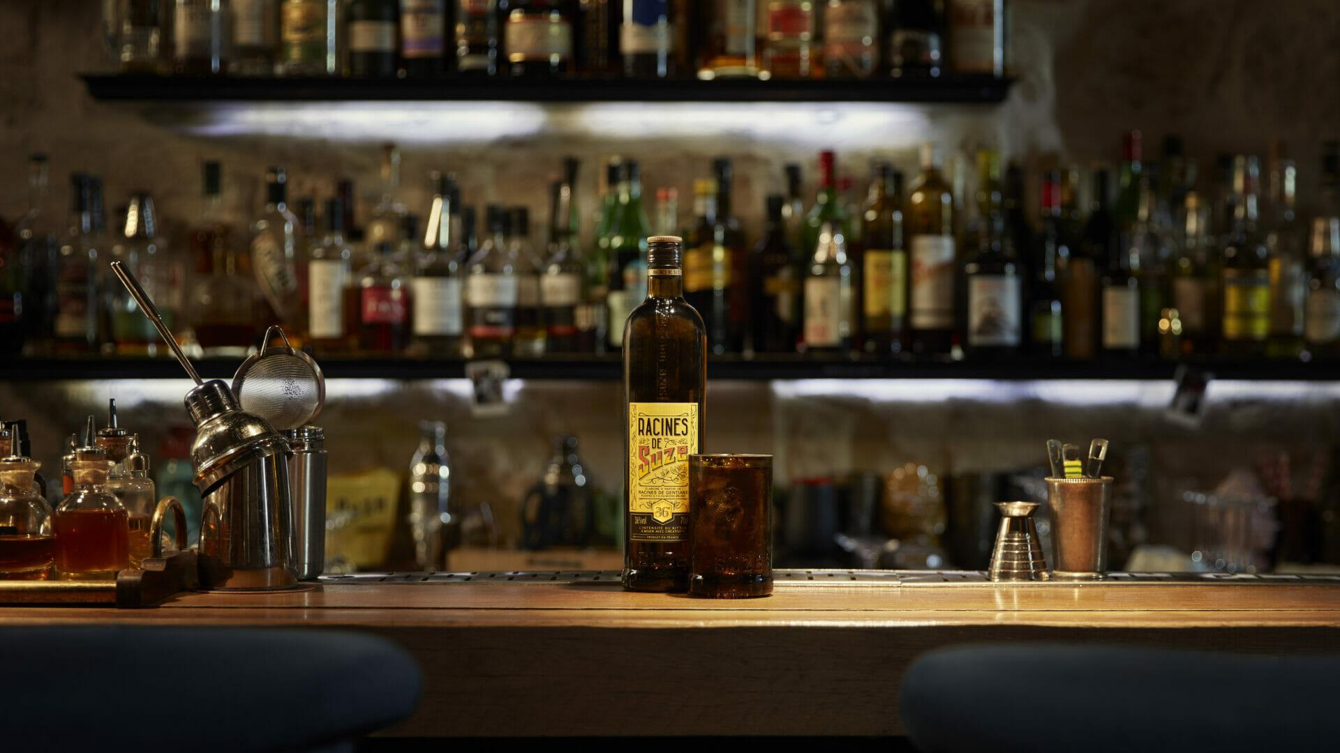 Racines de Suze Pernod Ricard Bitter